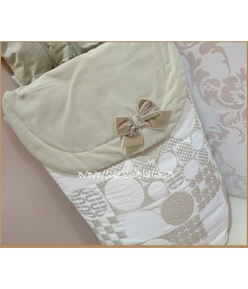 Saco de dormir rosa sin mangas