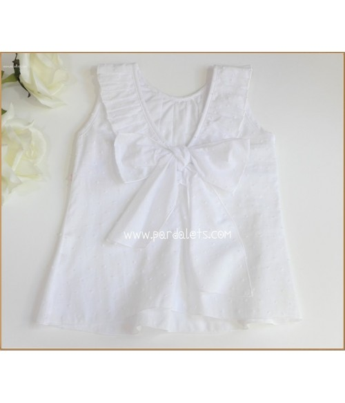 Vestido mikado blanco con fajin gris y rosas Magnificia Lulu