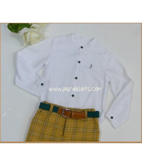 Jersey de lana gatito bordado y culote
