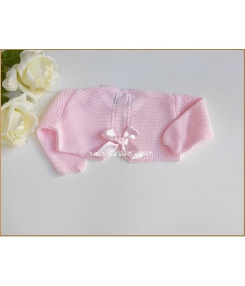 Conjunto camisa y short rosa empolvado