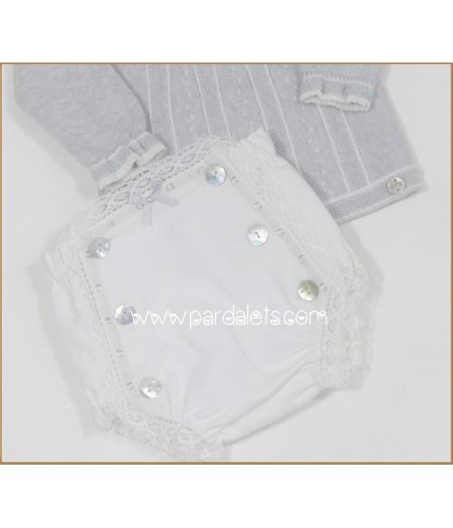 Camiseta y short tela cachemir estampado