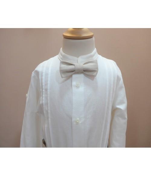 blusa blanca plumeti lazos