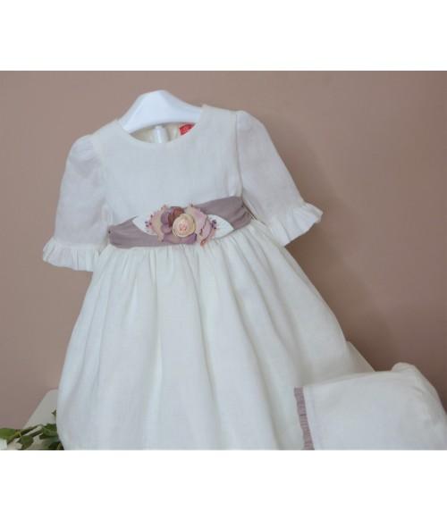 """Conjunto camisa blanca y short cuadros """"Andersen"""""""