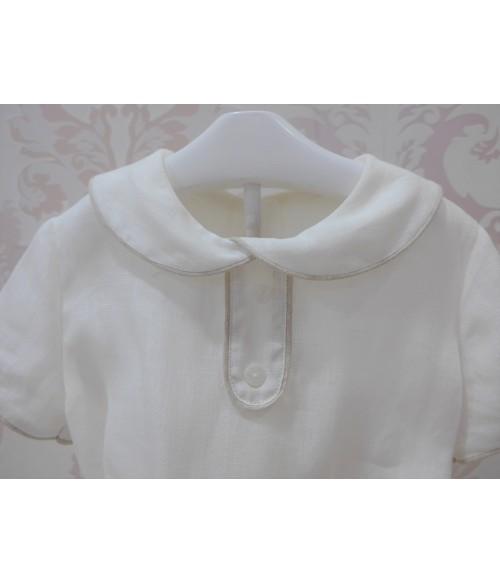 """Vestido infantil gales con lazo calabaza """"Beatrix"""""""