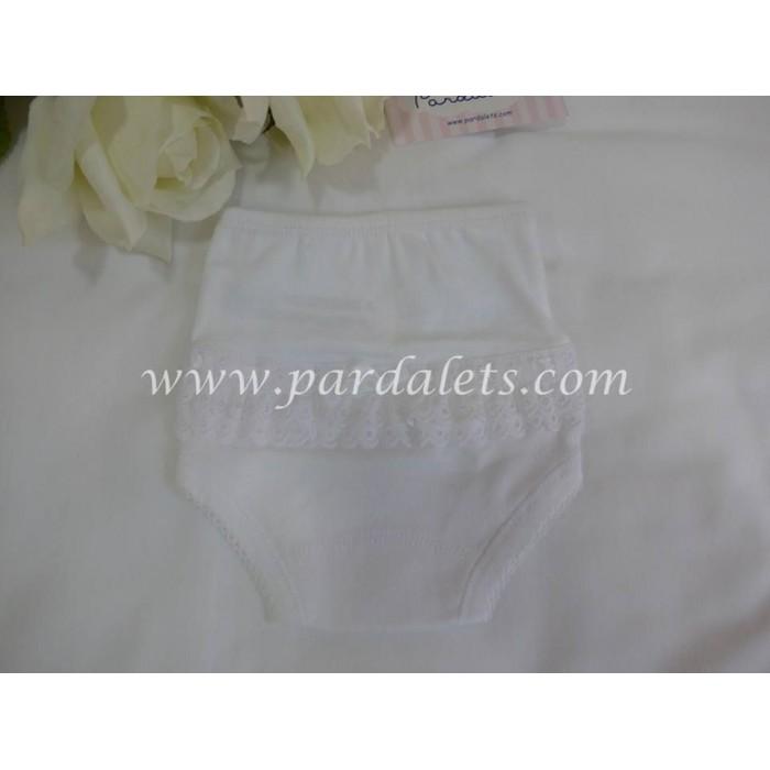 Body blanco manga corta cuello batista