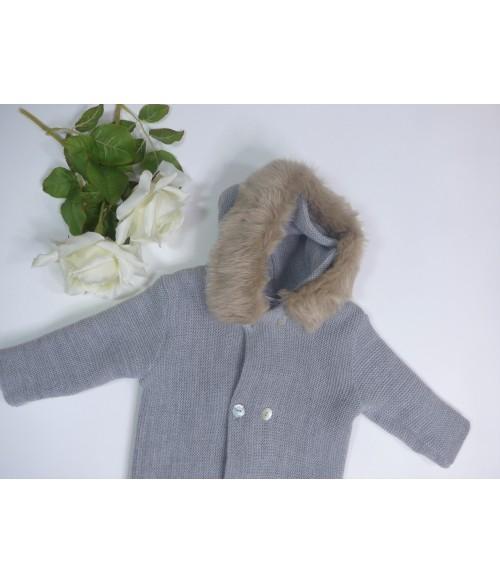 Conjunto chaqueta mostaza, blusa y culote mostaza