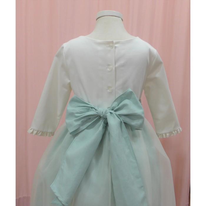 Pichi gris con blusa blanca y braguita a juego