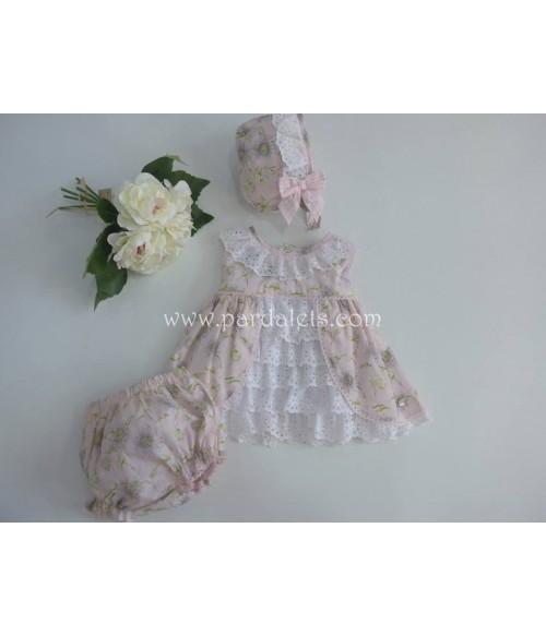 Camisa plumeti puntilla blanca Paloma de la O